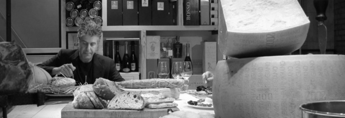 Anthony Bourdain at Roscioli | Wine Tasting Rome